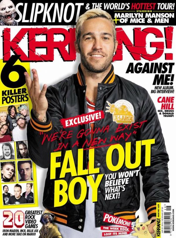 KKKK for 'Enraging the Beast' in Kerrang! this week!!!